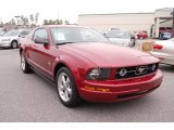 2007 Torch Red Ford Mustang V6 Premium Coupe #41865926