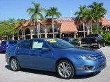 2010 Sport Blue Metallic Ford Fusion SEL #41865712