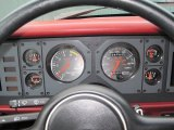 1986 Ford Mustang GT Convertible Gauges