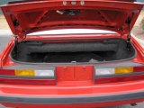 1986 Ford Mustang GT Convertible Trunk