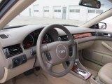 2003 Audi A6 3.0 quattro Sedan Beige Interior