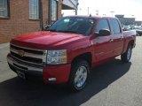 2011 Victory Red Chevrolet Silverado 1500 LT Crew Cab 4x4 #41866257