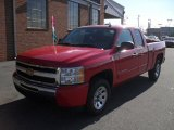 2011 Victory Red Chevrolet Silverado 1500 LS Extended Cab #41866261