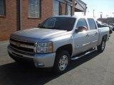 2011 Sheer Silver Metallic Chevrolet Silverado 1500 LT Crew Cab #41866263