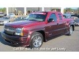 2004 Sport Red Metallic Chevrolet Silverado 1500 LT Extended Cab #41866002