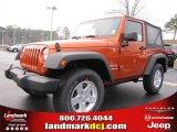 2011 Mango Tango Pearl Jeep Wrangler Sport S 4x4 #41865770