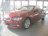 2011 Vermillion Red Metallic BMW 3 Series 328i Convertible #41866024