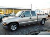2001 Light Pewter Metallic Chevrolet Silverado 1500 Extended Cab #41866056