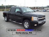2011 Black Chevrolet Silverado 1500 LT Crew Cab 4x4 #41866108