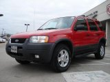 2002 Ford Escape Bright Red