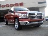 2007 Sunburst Orange Pearl Dodge Ram 1500 Thunder Road Quad Cab #41866150