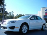 2011 White Suede Ford Fusion SE #41934593
