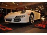 2008 Carrara White Porsche 911 Carrera 4S Cabriolet #41935045