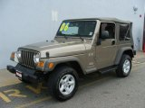 2006 Light Khaki Metallic Jeep Wrangler X 4x4 #41934852