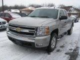 2008 Silver Birch Metallic Chevrolet Silverado 1500 LT Extended Cab 4x4 #41935098