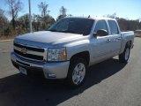 2011 Sheer Silver Metallic Chevrolet Silverado 1500 LT Crew Cab #41935149