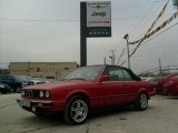 1989 Bright Red BMW 3 Series 325i Convertible #41934718