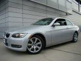 2008 Titanium Silver Metallic BMW 3 Series 335i Convertible #41934491