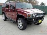 2003 Red Metallic Hummer H2 SUV #41934750