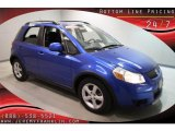 2007 Techno Blue Metallic Suzuki SX4 AWD #41934529