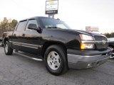 2005 Black Chevrolet Silverado 1500 LS Crew Cab #41934799