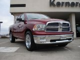 2011 Deep Cherry Red Crystal Pearl Dodge Ram 1500 Big Horn Crew Cab #41935032