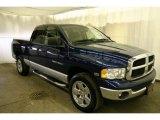 2005 Patriot Blue Pearl Dodge Ram 1500 SLT Quad Cab 4x4 #42001571