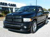 2004 Black Dodge Ram 1500 Sport Quad Cab #42001462