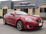 2008 Matador Red Mica Lexus IS 250 #42001719