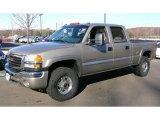 2003 Pewter Metallic GMC Sierra 2500HD SLE Crew Cab 4x4 #42001754