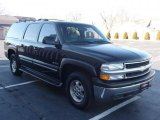 Forest Green Metallic Chevrolet Suburban in 2001