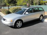 2000 Satin Silver Metallic Volkswagen Passat GLX V6 Wagon #42001450