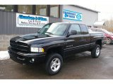 2001 Black Dodge Ram 1500 Sport Club Cab 4x4 #42001563