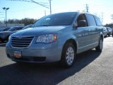 2010 Clearwater Blue Pearl Chrysler Town & Country LX #42049885