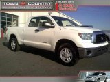 2008 Super White Toyota Tundra Double Cab #42050105