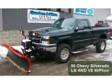 Dark Green Metallic Chevrolet Silverado 1500 in 2006