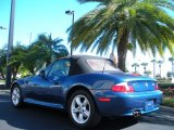 2001 BMW Z3 Topaz Blue Metallic