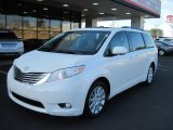 2011 Super White Toyota Sienna Limited #42063429