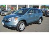 2011 Opal Sage Metallic Honda CR-V EX-L #42063451
