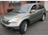 2008 Green Tea Metallic Honda CR-V EX-L 4WD #42063271