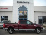 2006 Dark Toreador Red Metallic Ford F150 XLT SuperCrew 4x4 #42063296