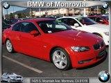 2008 Crimson Red BMW 3 Series 335i Convertible #42099555