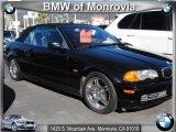 2001 Jet Black BMW 3 Series 330i Convertible #42099556