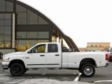 2007 Bright White Dodge Ram 3500 SLT Quad Cab 4x4 #42099749