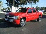 2011 Victory Red Chevrolet Silverado 1500 LT Crew Cab #42099406