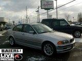 1999 Titanium Silver Metallic BMW 3 Series 323i Sedan #42099225