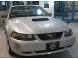 2001 Silver Metallic Ford Mustang GT Convertible #42099777