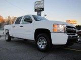 2011 Summit White Chevrolet Silverado 1500 LS Crew Cab #42099589