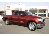 2007 Salsa Red Pearl Toyota Tundra SR5 TRD Double Cab 4x4 #42099265