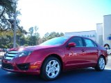 2011 Red Candy Metallic Ford Fusion SE #42099440